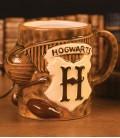 Mug Quidditch 3D Effet Sculpté