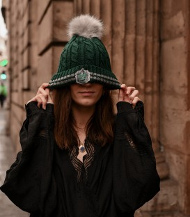 Bonnet à pompon - Serpentard,  Harry Potter, Boutique Harry Potter, The Wizard's Shop