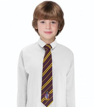 Cravate Enfants - Gryffondor,  Harry Potter, Boutique Harry Potter, The Wizard's Shop