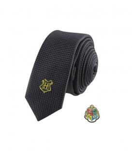 Cravate Deluxe et Pin's Poudlard