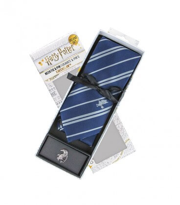 Ravenclaw Deluxe Tie and Pins