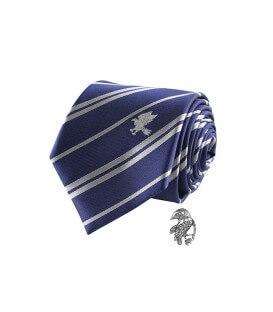 Cravate Deluxe et Pin's Serdaigle,  Harry Potter, Boutique Harry Potter, The Wizard's Shop
