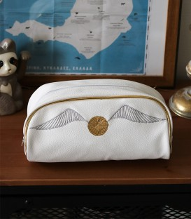 Snitch Toiletry Bag Harry Potter
