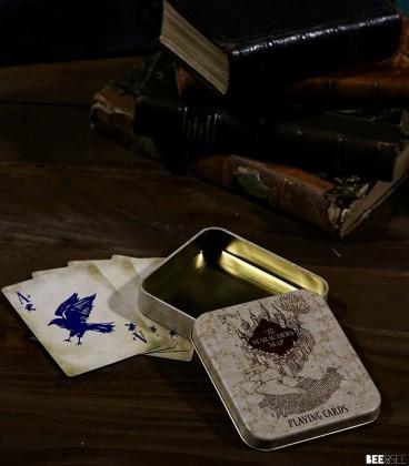 Jeu de cartes La Carte du Maraudeur,  Harry Potter, Boutique Harry Potter, The Wizard's Shop