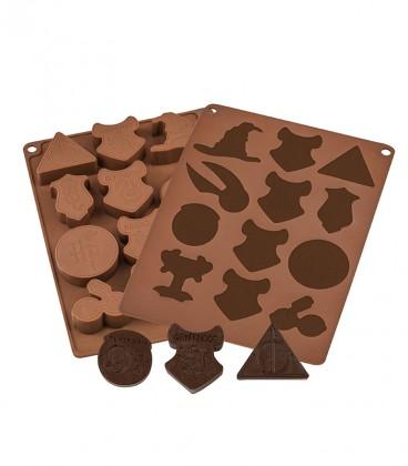 Moules à chocolats et glaçons - Logo Harry Potter,  Harry Potter, Boutique Harry Potter, The Wizard's Shop