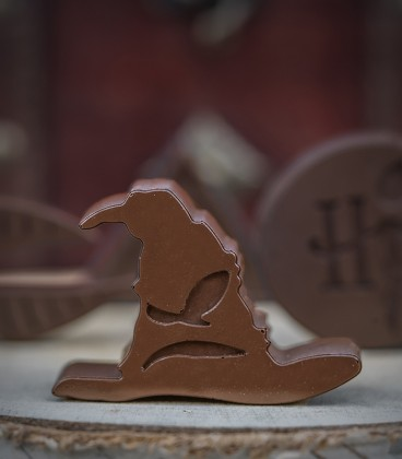 Harry Potter logo Chocolate molds and ice cubes
