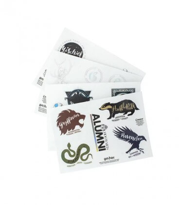 Plaquette de 21 Stickers Harry Potter,  Harry Potter, Boutique Harry Potter, The Wizard's Shop