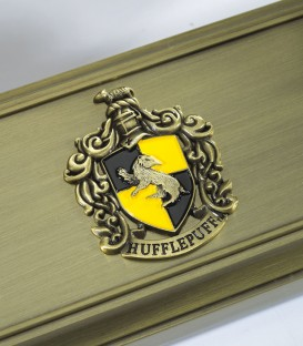 Metal Magic Wand Display - Hufflepuff