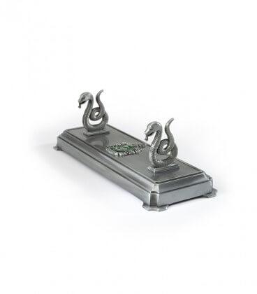 Metal Magic Wand Display - Slytherin