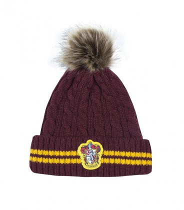 Bonnet à pompon - Gryffondor,  Harry Potter, Boutique Harry Potter, The Wizard's Shop