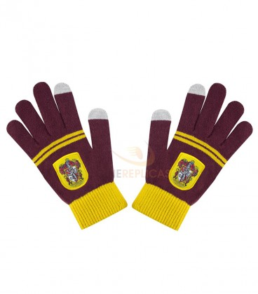 Gryffindor purple and gold tactile gloves