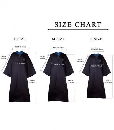 Pack Déguisement Serdaigle - Robe Cravate Tatouages,  Harry Potter, Boutique Harry Potter, The Wizard's Shop