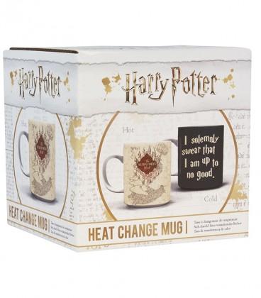 Mug Carte du Maraudeur Effet Thermique,  Harry Potter, Boutique Harry Potter, The Wizard's Shop