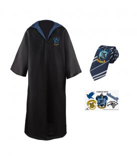 Pack Déguisement Serdaigle - Robe Cravate Tatouages