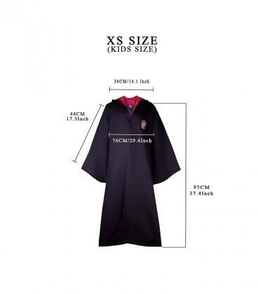 Pack Déguisement Gryffondor - Robe Cravate Tatouages - Kids,  Harry Potter, Boutique Harry Potter, The Wizard's Shop