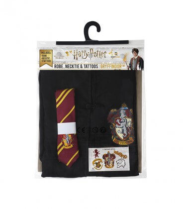 Gryffindor Costume Pack - Tie Dress Tattoos - Kids