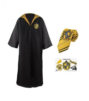 Pack Déguisement Poufsouffle - Robe Cravate Tatouages - Kids,  Harry Potter, Boutique Harry Potter, The Wizard's Shop