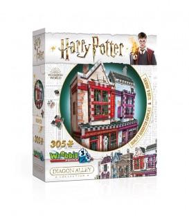 Puzzle 3D - Boutique Accessoires de Quidditch et Slug and Jiggers,  Harry Potter, Boutique Harry Potter, The Wizard's Shop