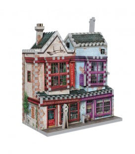 3D Puzzle - Quidditch and Slug and Jiggers Accessories Store