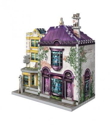 3D puzzle - Boutique Madame Guipure and Florean Fortescue
