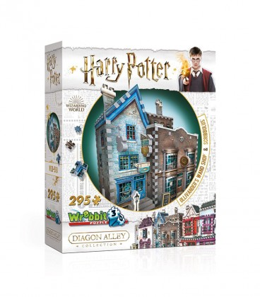 Puzzle 3D - Boutique Ollivander et Scribbulus,  Harry Potter, Boutique Harry Potter, The Wizard's Shop