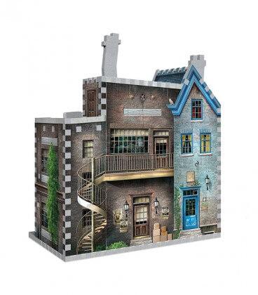 3D puzzle - Ollivander and Scribbulus shop