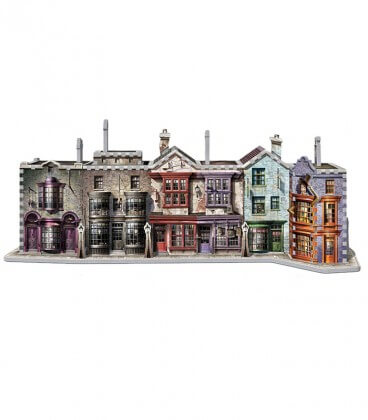 Puzzle 3D - Chemin de Traverse,  Harry Potter, Boutique Harry Potter, The Wizard's Shop