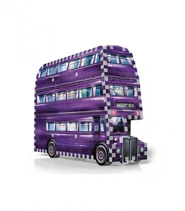 Puzzle 3D - The Knight Bus