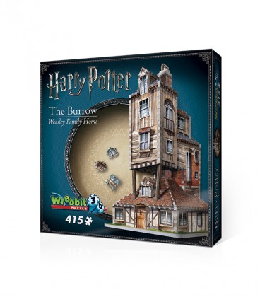 3D Puzzle - The Terrier - Weasley's House