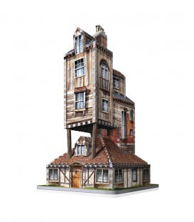 Puzzle 3D - Le Terrier - Maison des Weasley,  Harry Potter, Boutique Harry Potter, The Wizard's Shop