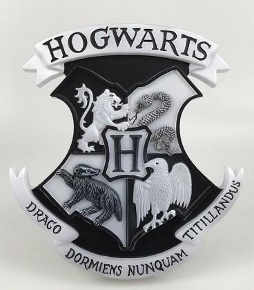 Lampe 3D Harry Potter Blason Hogwarts,  Harry Potter, Boutique Harry Potter, The Wizard's Shop