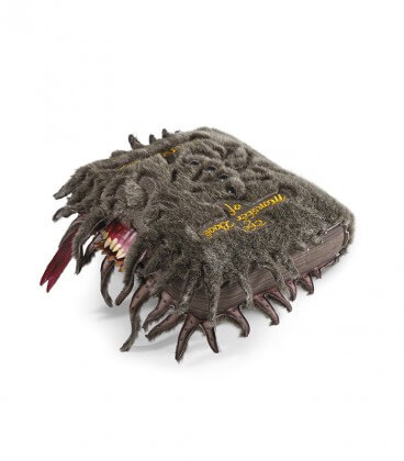 The Book of Monsters Plush Cushion
