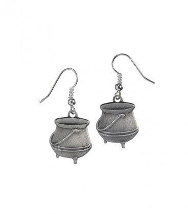 Potions cauldron earrings