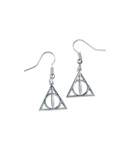 Boucles d'oreilles pendantes Reliques de la mort,  Harry Potter, Boutique Harry Potter, The Wizard's Shop