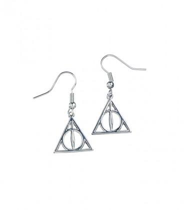Boucles d'oreilles pendantes Reliques de la mort,  Harry Potter, Boutique Harry Potter, The Wizard's Shop