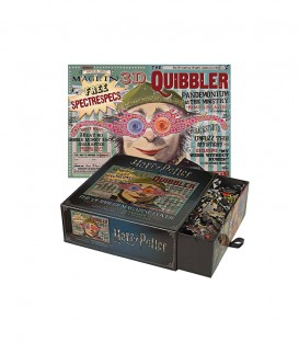Puzzle of the cover of The Quibbler Magazine