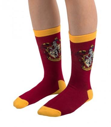 Pack of 3 pairs of Gryffindor socks