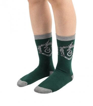 3 Pairs of Slytherin Socks