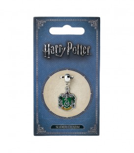 Pendentif Charm Armoirie Serpentard,  Harry Potter, Boutique Harry Potter, The Wizard's Shop