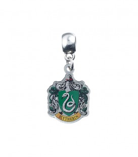 Slytherin coat of arms charm pendant