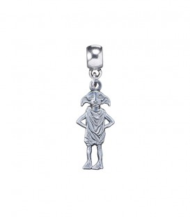 Silver Dobby Metal Charm Pendant