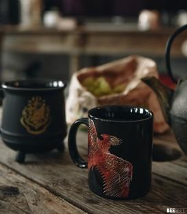 Mug Phoenix Effet Thermique Phoenix,  Harry Potter, Boutique Harry Potter, The Wizard's Shop
