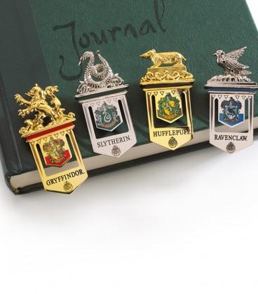 Marque-pages Poudlard - Gryffondor Poufsouffle Serdaigle Serpentard,  Harry Potter, Boutique Harry Potter, The Wizard's Shop