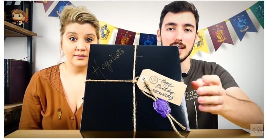 Themageekalworld a testé notre box Poudlard The Wizard's Shop !