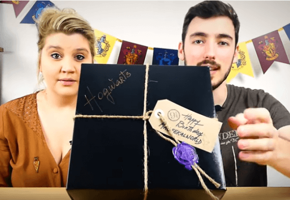 Themageekalworld a testé notre box Poudlard The Wizard's Shop !